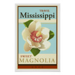 Viaje Mississippi Póster