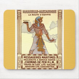 Viaje Mousepad de Egipto del vintage