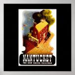 Viaje-Nantucket del Poster-Vintage