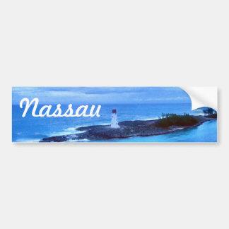 Viaje Nassau de la luz de la isla del cerdo Pegatina Para Auto