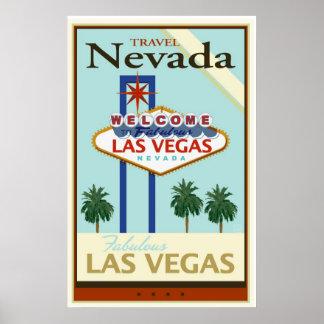 Viaje Nevada Póster
