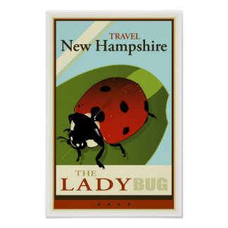 Viaje New Hampshire Póster