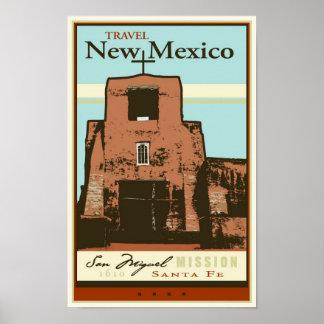 Viaje New México Póster