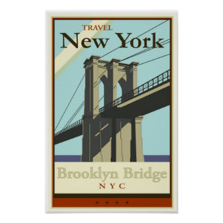 Viaje Nueva York Poster