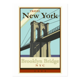 Viaje Nueva York Postal