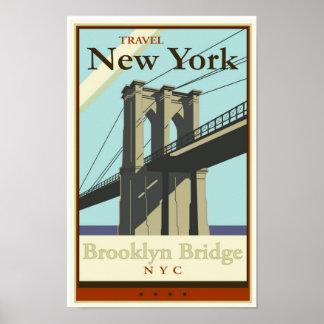 Viaje Nueva York Póster