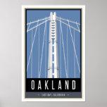 Viaje Oakland Póster