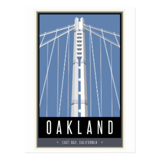 Viaje Oakland Tarjeta Postal