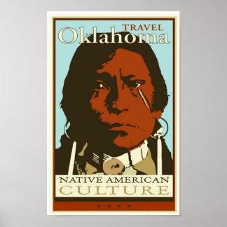 Viaje Oklahoma Poster