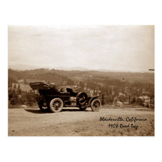 Viaje por carretera 1908 de Placerville Postal