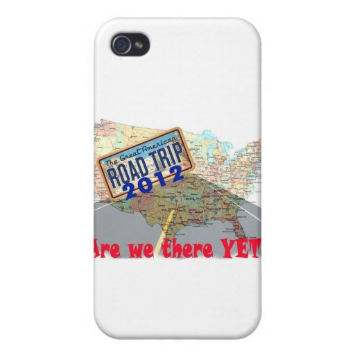 Viaje por carretera 2012 - ¿Estamos allí todavía? iPhone 4/4S Fundas