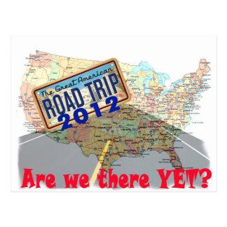Viaje por carretera 2012 - ¿Estamos allí todavía? Postal