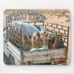 Viaje por carretera alfombrilla de raton