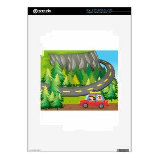 Viaje por carretera calcomanías para el iPad 2