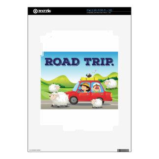 Viaje por carretera calcomanías para iPad 2