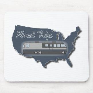 Viaje por carretera clásico de los E.E.U.U. de la  Tapetes De Raton