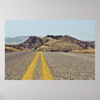 Viaje por carretera de Colorado Póster