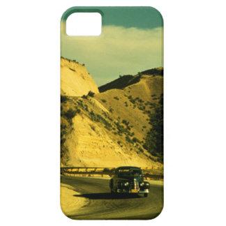 Viaje por carretera del vintage iPhone 5 Case-Mate protectores