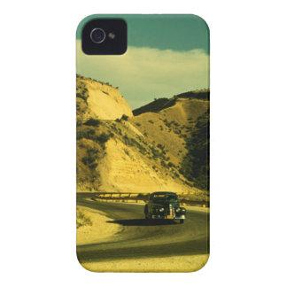 Viaje por carretera del vintage iPhone 4 carcasa