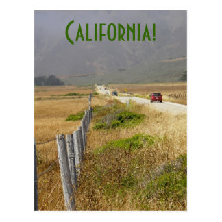 viaje por carretera en California Postales