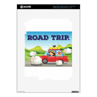 Viaje por carretera pegatinas skins para iPad 3
