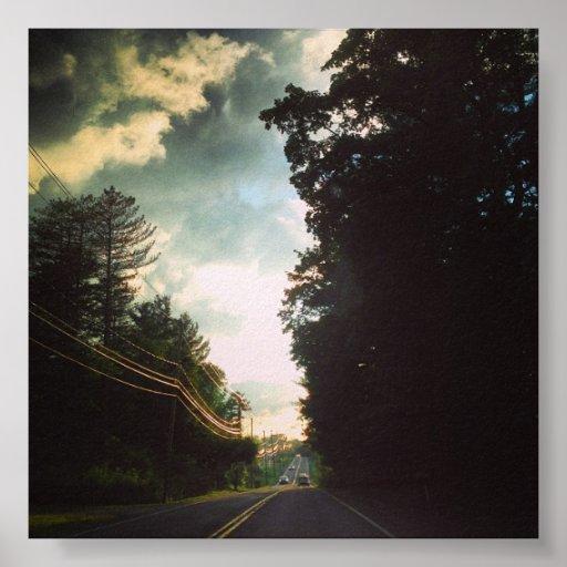 Viaje por carretera poster