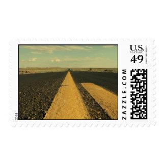 Viaje por carretera sellos