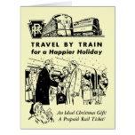 Viaje por el ferrocarril de Tren-Pennsylvania Tarjetón