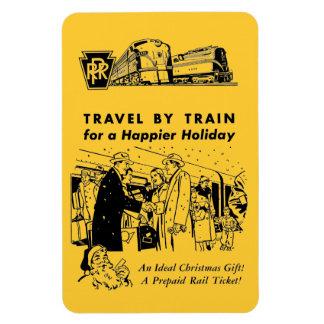 Viaje por el imán de la foto del ferrocarril de