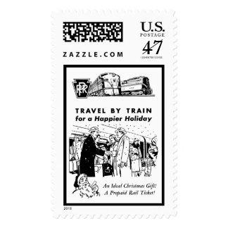 Viaje por los sellos del ferrocarril de
