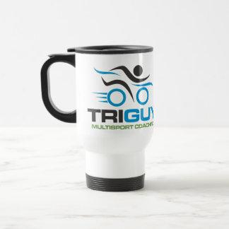 Viaje que entrena de TriGuy Multisport y taza del