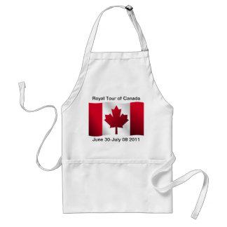 Viaje real de Canadá Delantales