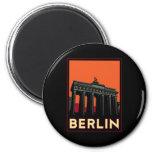viaje retro del art déco más oktoberfest de Berlín Imán Para Frigorífico