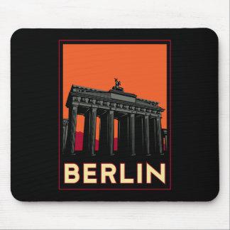 viaje retro del art déco más oktoberfest de Berlín Alfombrilla De Ratón