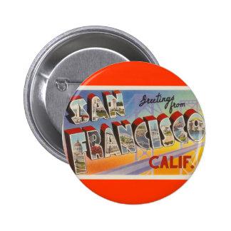 Viaje San Francisco del vintage Pin