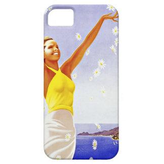Viaje Santa Margherita Ligure Italia del vintage Funda Para iPhone SE/5/5s