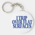 Viaje sobre superficies planas llavero personalizado