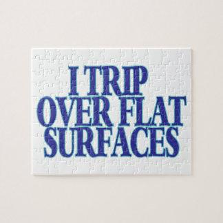 Viaje sobre superficies planas puzzle