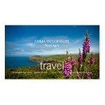 Viaje - tarjeta de visita de Cornualles