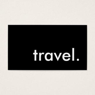 viaje tarjetas de visita
