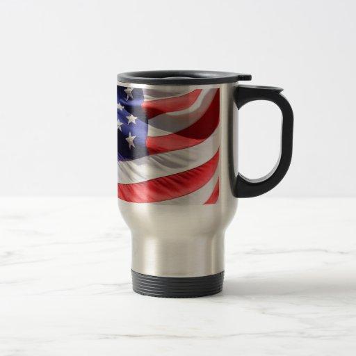Viaje/taza del viajero - bandera americana taza térmica