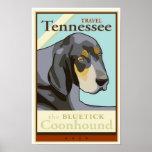 Viaje Tennessee Póster