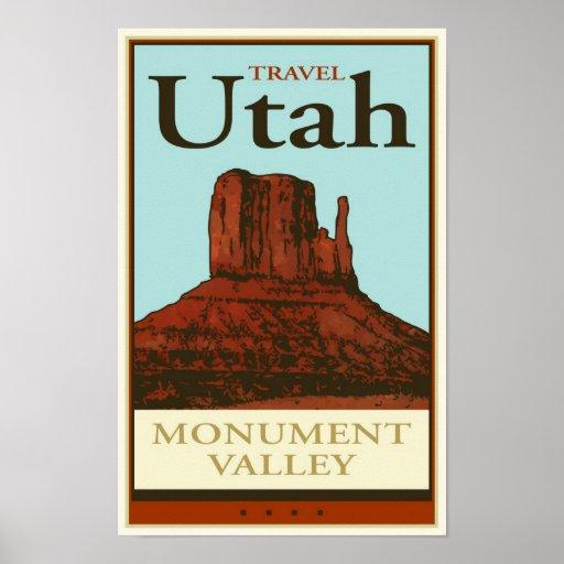 Viaje Utah Poster