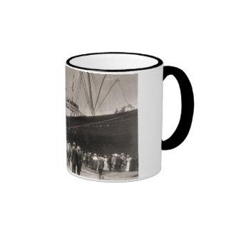 Viaje virginal del Lusitania del RMS 13 Septemebe Taza De Café