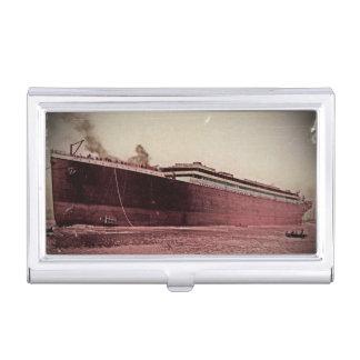 Viaje virginal del RMS titánico Caja De Tarjetas De Presentación