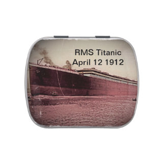 Viaje virginal del RMS titánico Frascos De Dulces