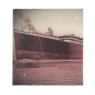Viaje virginal titánico del RMS Bloc