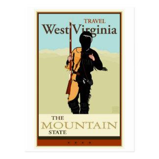 Viaje Virginia Occidental Tarjetas Postales