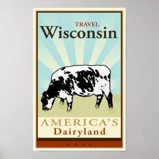 Viaje Wisconsin Póster