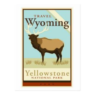 Viaje Wyoming Tarjetas Postales